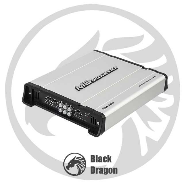 خرید-سیستم-صوتی-خودرو-آمپلی-چهار-کاناله-MB-Acoustics-Amplifier