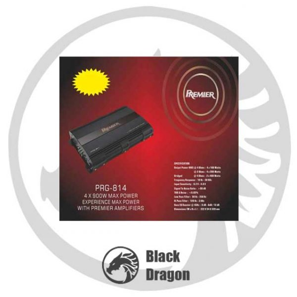 814-آمپلی-فایر-پریمیر-Premier-PRG-814-Amplifier