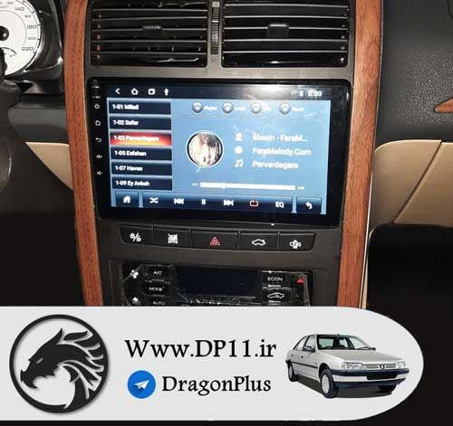 ضبط-تصویری-فابریک-پژو-405-Peugeot-405-Multi-Media