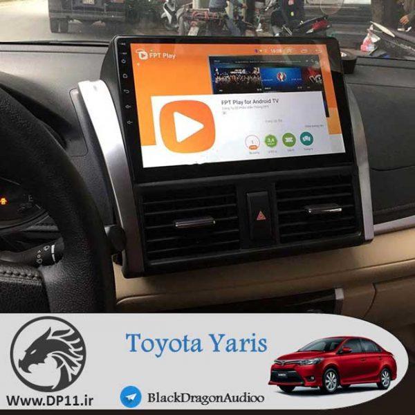 مانیتور-فابریک-تویوتا-یاریس-Toyota-Yaris-2014-2019-Multi-Media