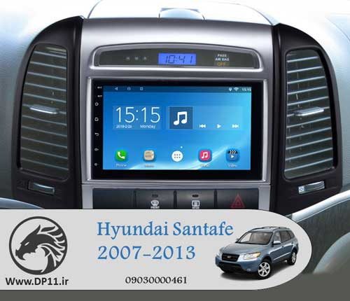 مانیتور-فابریک-هیوندای-سانتافه-Hyundai-Santa-Fe-Multi-Media