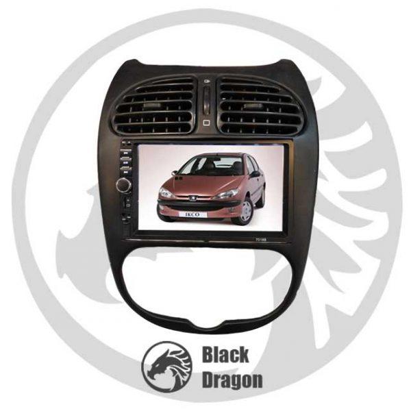مولتی-مدیا-فابریک-پژو-206-Peugeot-206-Multi-Media