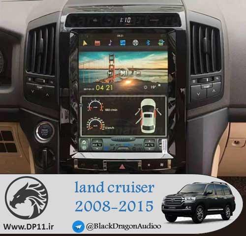 مانیتور-تویوتا-لندکروز-تسلایی-toyota-land-cruiser-2008-2015-Multi-Media