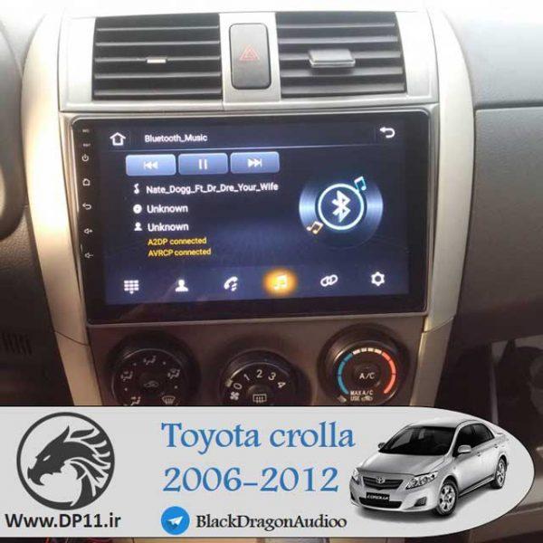 مانیتور-فابریک-تویوتا-کرولا-Toyota-Corolla-2006-2008-2010-2012-Multi-Media