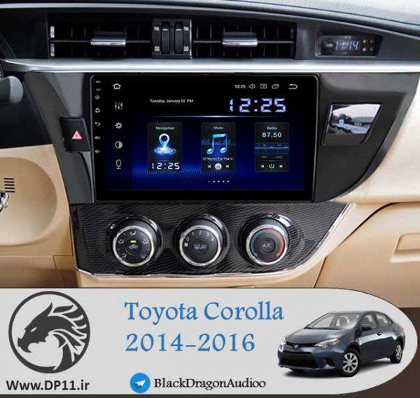 مانیتور-اندروید-تویوتا-کرولا-Toyota-Corolla-2014-2016-Multi-Media