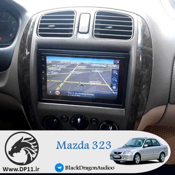 مانیتور-اندروید-مزدا-323-mazda-323-Multi-Media