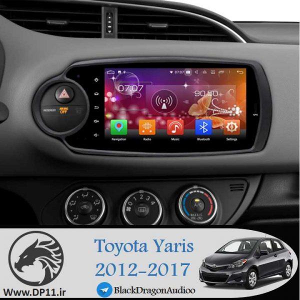 مانیتور-فابریک-یارس-هاچبک-toyota-yaris-hatchback-2012-2019-Multi-Media