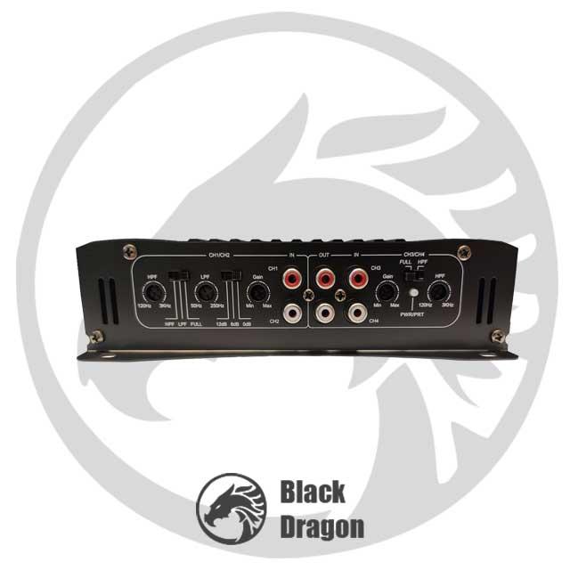آمپلی-فایر-4-کاناله-خودرو-سیستم-صوتی-ماشین-maxeeder-MX-AP4160-Amplifier