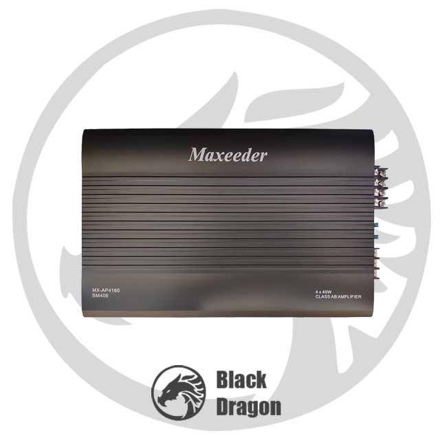 406-آمپلی-فایر-مکسیدر-4-کانال-maxeeder-MX-AP4160-BM-406-Amplifier