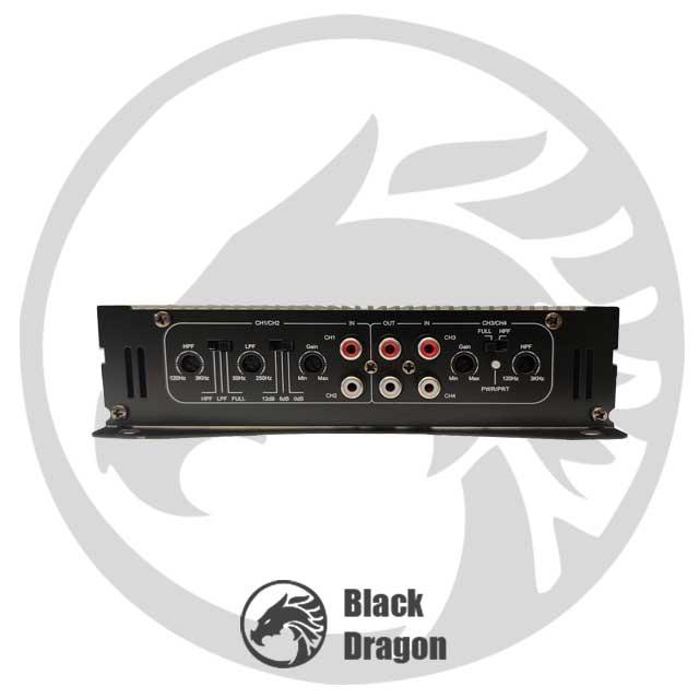 408-آمپلی-فایر-مکسیدر-چهار-کاناله-maxeeder-MX-AP4160-BM-408-Amplifier