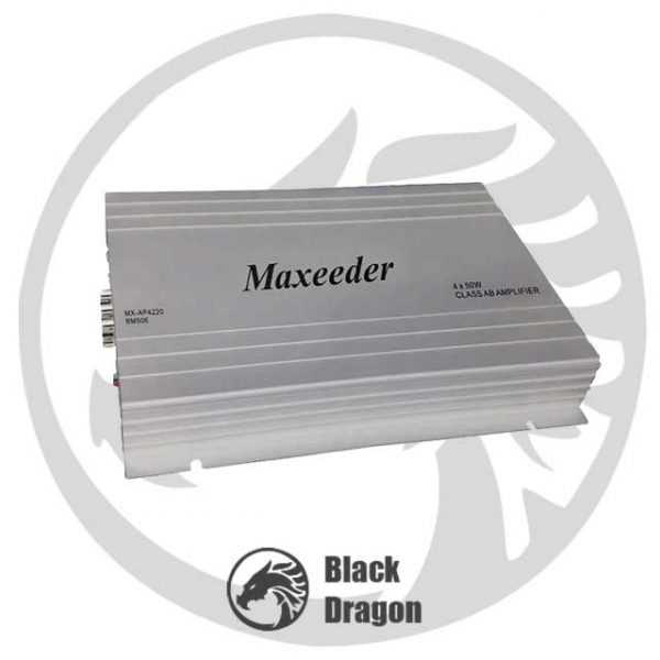 506-آمپلی-فایر-مکسیدر-چهار-کانال-maxeeder-MX-AP4220-BM506-Amplifier