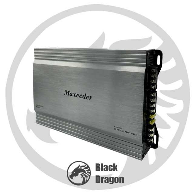 قیمت-امپلی-فایر-خودرو-مکسیدر-چهار-کانال-maxeeder-Amplifier
