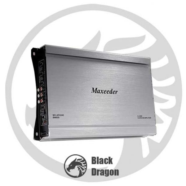 605-آمپلی-فایر-مکسیدر-چهار-کانال-maxeeder-MX-AP4240-BM-605-Amplifier