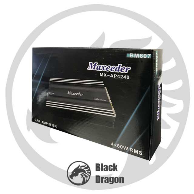 قیمت-محصولات-مکسیدر-نمایندگی-ضبط-سیستم-صوتی-ماشین-maxeeder-MX-AP4240-BM-607-Amplifier