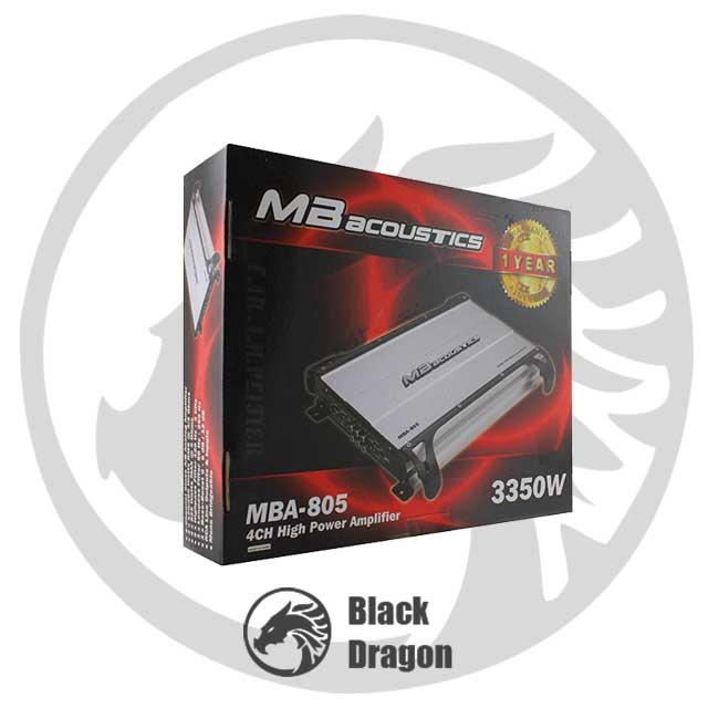 سیستم-صوتی-خودرو-قیمت-آمپلی-چهار-کانال-MBAcoustics-Amplifier