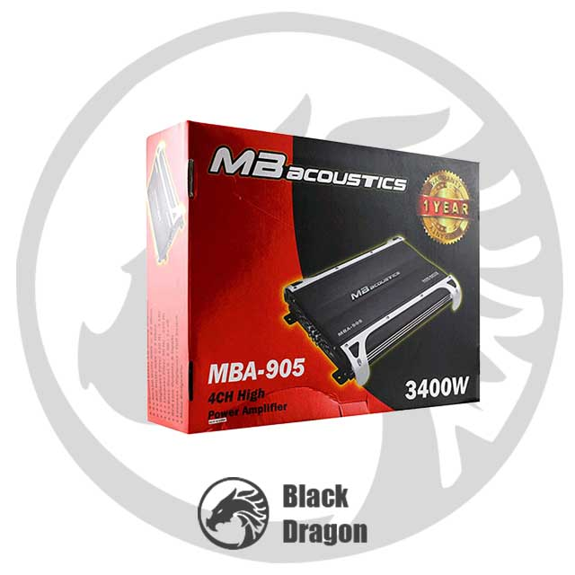 خرید-سیستم-صوتی-خودرو-بلندگو-باند-آمپلی-چهار-کانال-MBA-AMPLIFIRE