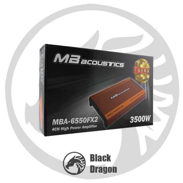 سیستم-صوتی-خودرو-آمپلی-چهار-کاناله-MB-Acoustics-Amplifier