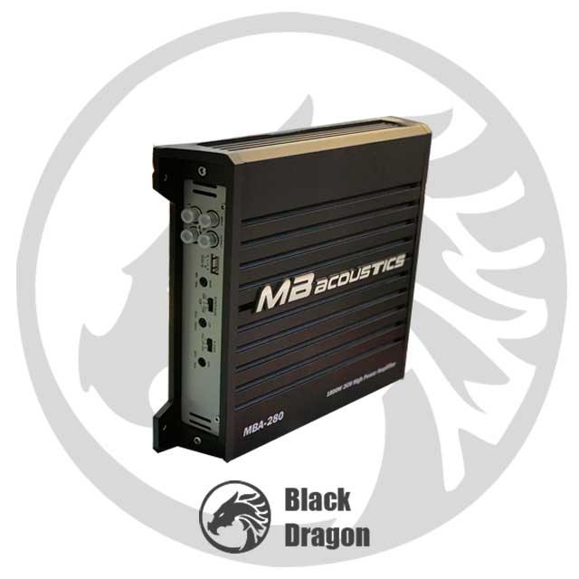 خرید-سیستم-صوتی-آمپ-دو کانال-MB-Acoustics-Amplifier