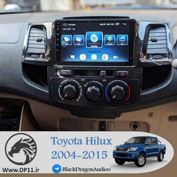 مانیتور-فابریک-تویوتا-هایلوکس-Toyota-hilux-2004-2015-Multi-Media